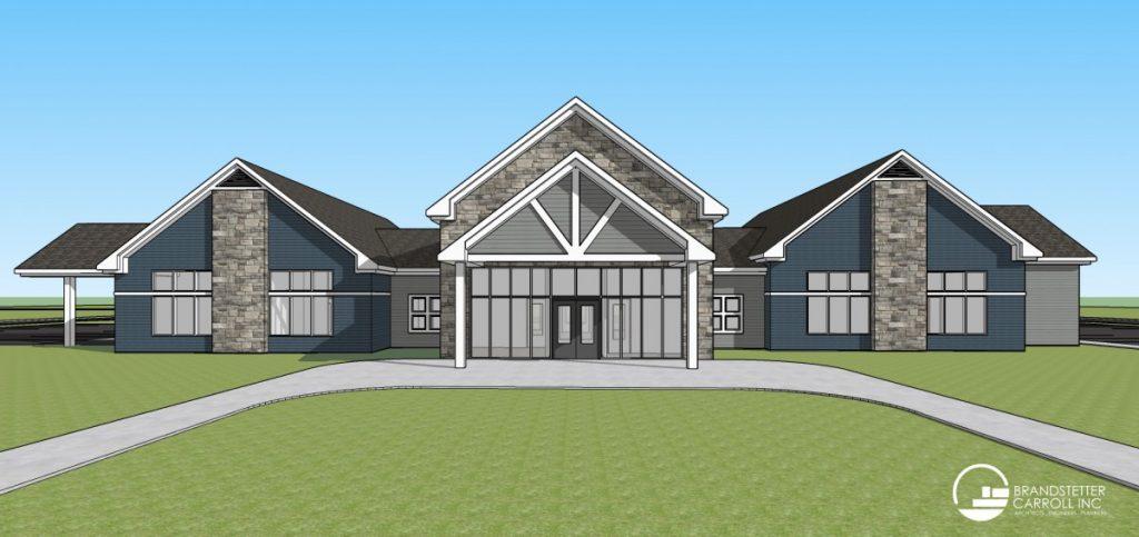 lewisport library rendering